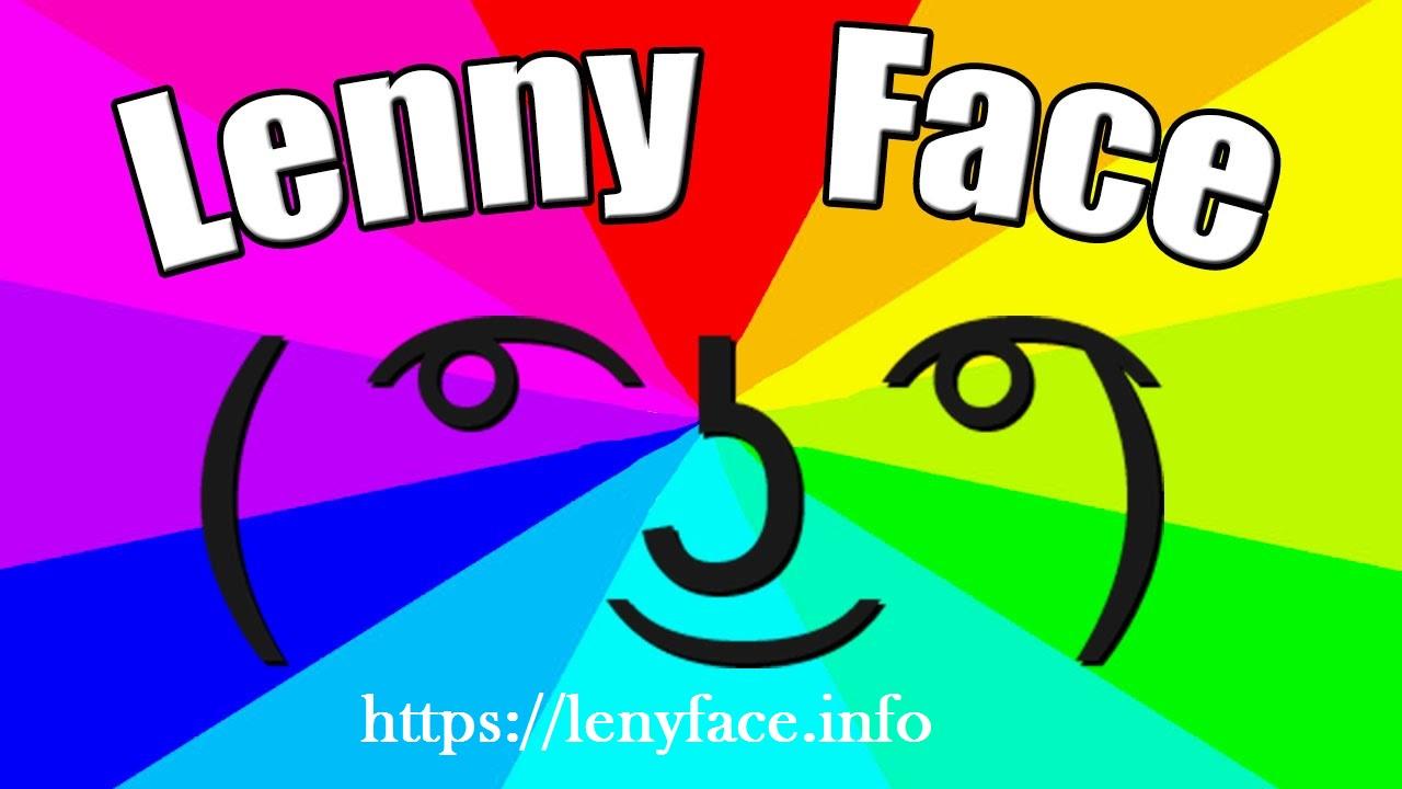 Lenny Face ( ͡° ͜ʖ ͡°) - Copy & paste Lenny Faces